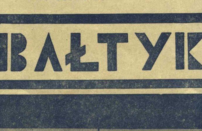 """""""Bałtyk """"   1936"""