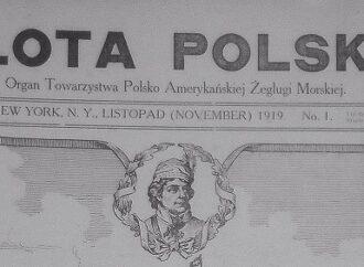 """""""Flota Polska – organ Towarzystwa Polsko Amerykańskiego Żeglugi  Morskiej""""        1919"""
