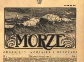 """""""Morze"""" cz. 1. 1924-1939"""