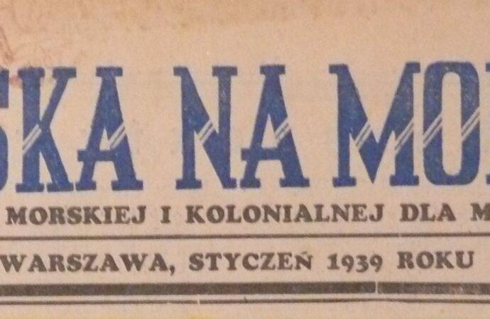 """""""Polska na Morzu"""" – wydanie B""""  1938-1939"""