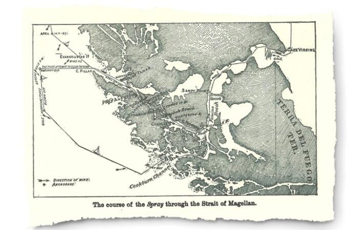 Historia. Odkrycie Cieśniny Magellana